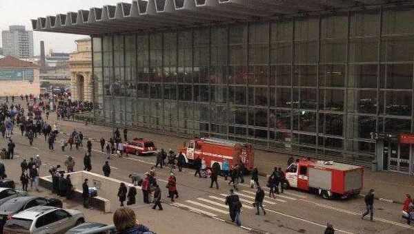 В Москве эвакуировали Курский вокзал. Архивное фото