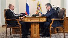 Путин объяснил Шойгу причины отставки главы Минобороны Сердюкова