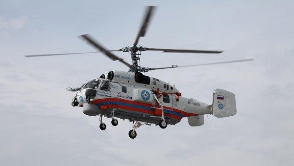 Противопожарный вертолет Ка-32А11ВС