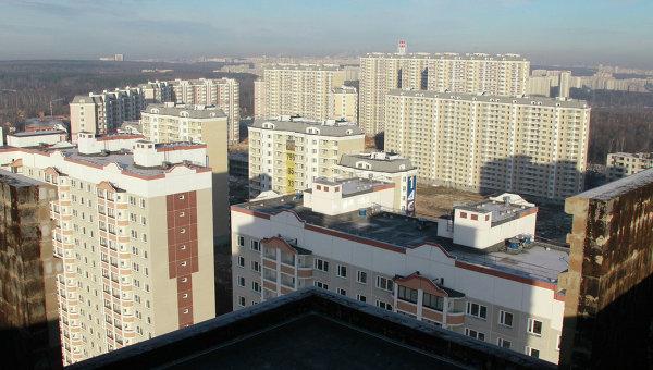 Строительство жилого квартала Бутово Парк 2. Архивное фото