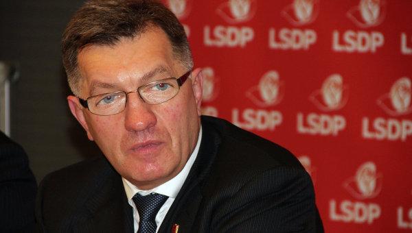 Премьер-министр Литвы Альгирдас Буткявичюс. Архив