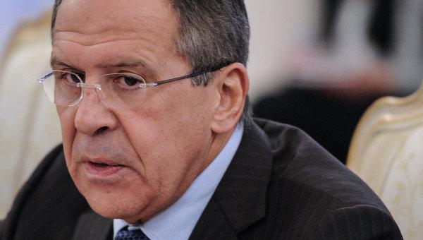 Министр иностранных дел РФ Сергей Лавров. Архив