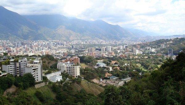 Вид на Каракас, столицу Венесуэлы. Архивное фото