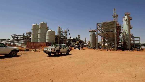 Нефтяной объект BP в городе Ин-Аменас, на который совершили нападение террористы