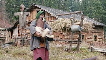 Таежная отшельница Агафья Лыкова, архивное фото