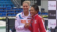 Молодость Кириленко против опыта 43-летней японки: жеребьевка Кубка Федерации