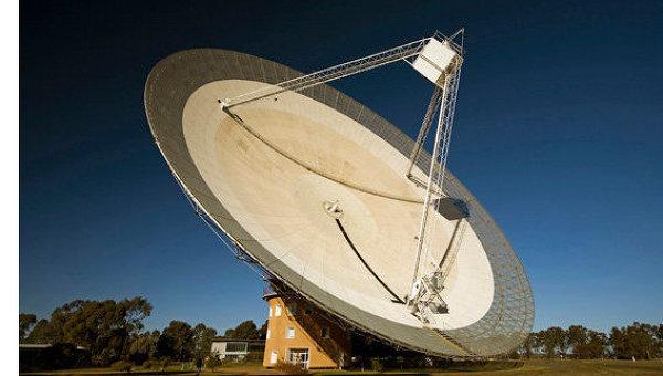 64-метровая антенна радиотелескопа Паркса в Австралии