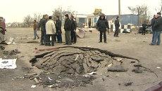 Разрушенное здание КПП и погибшие полицейские – взрыв в Дагестане