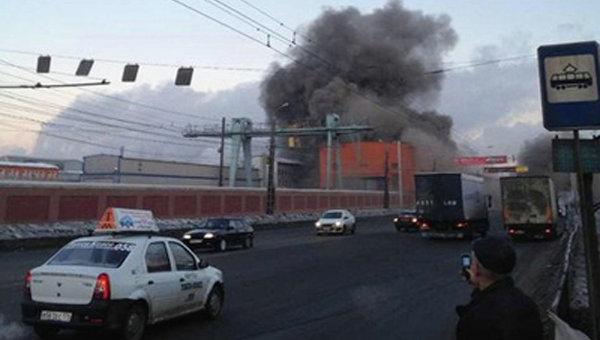 ОАО Челябинский цинковый завод в Челябинской области после падения метеорита