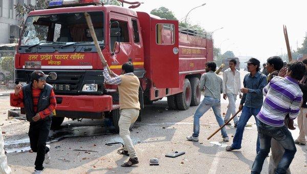 Беспорядки в Индии. Архивное фото