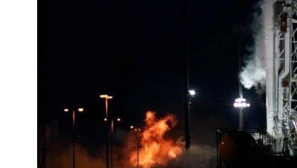 Огневые испытания ракеты Антарес. Архив