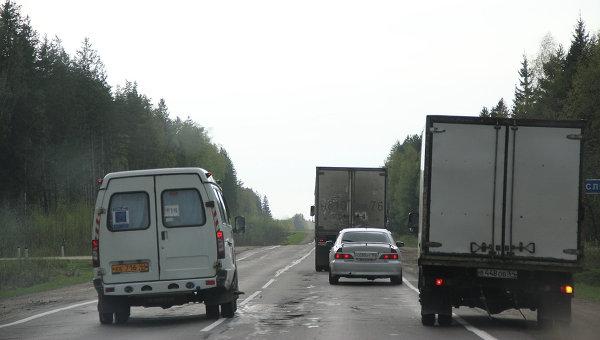 Автомобильная дорога. Архив