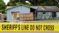 Провал грунта в городе Тампа, штат Флорида