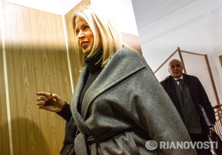 Экс-руководитель департамента имущественных отношений Минобороны РФ Евгения Васильева
