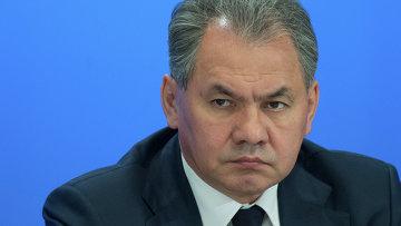 Министр обороны РФ Сергей Шойгу на военно-промышленной конференции