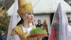 Празднование Нооруза в Бишкеке