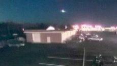 Метеор пролетел над восточным побережьем США. Съемка камер наблюдения