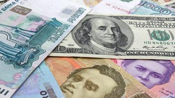 Рубль, доллар, евро, архивное фото