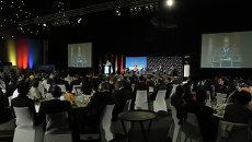 Заседание саммита лидеров БРИКС в южно-африканском Дурбане. Архив