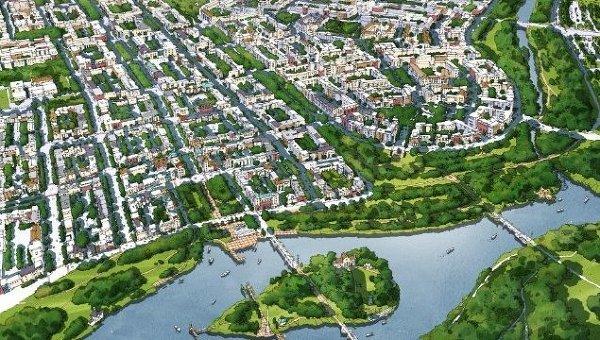 Проект города-спутника Южный