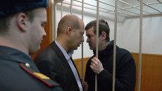 Заседание Басманного суда по делу Леонида Развозжаева. Архивное фото