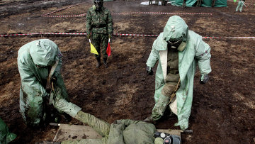 Учения по ликвидации аварии на радиационно-опасном объекте в Приморье