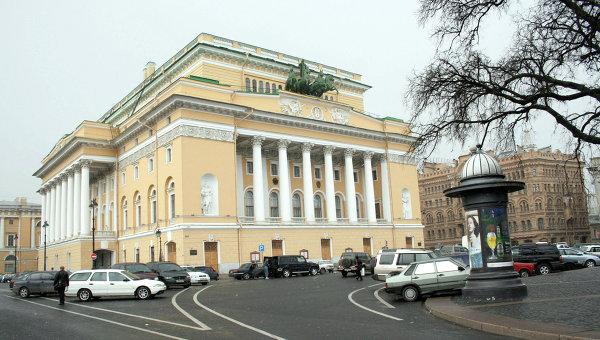 Здание Александринского театра в Санкт-Петербурге. Архивное фото