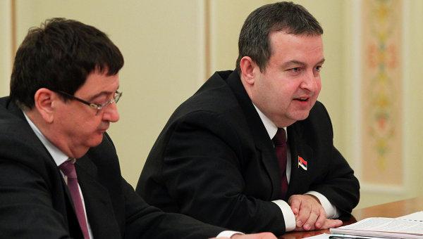 Премьер-министр Сербии И.Дачич, архивное фото