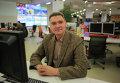 Главный редактор сайта РИА Новости  Илья Булавинов