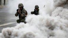 Антитеррористические учения в Южной Корее
