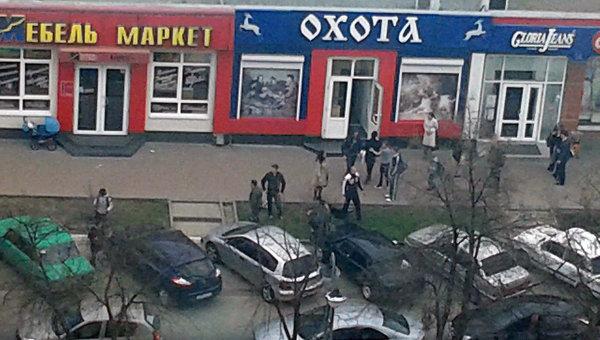 На месте стрельбы в Белгороде