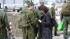 Сборный пункт, отправка призывников в 24-ю отдельную пригаду спецназа ГРУ в Новосибирске