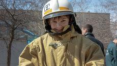 Празднование Дня пожарной охраны в Новосибирске