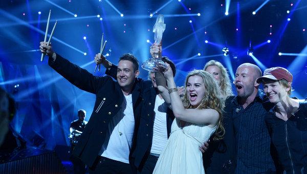 Победитель Евровидения-2013 датчанка Эммили де Форест