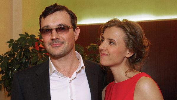 Актеры Ксения Алферова и Егор Бероев. Архив