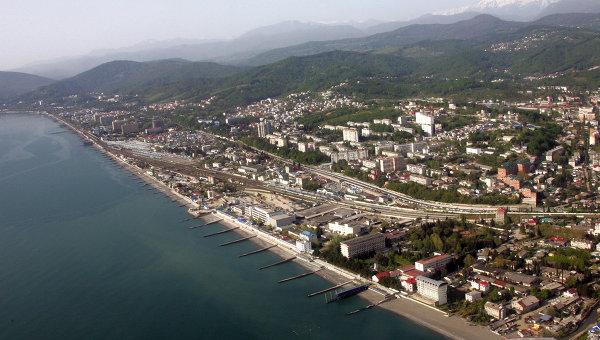 История города Сочи Справка РИА Новости   Вид на Сочи