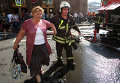 """Станцию метро """"Охотный ряд"""" в центре Москвы закрыли из-за пожара"""