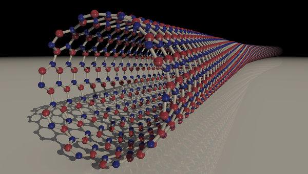 Углеродная нанотрубка. Архивное фото