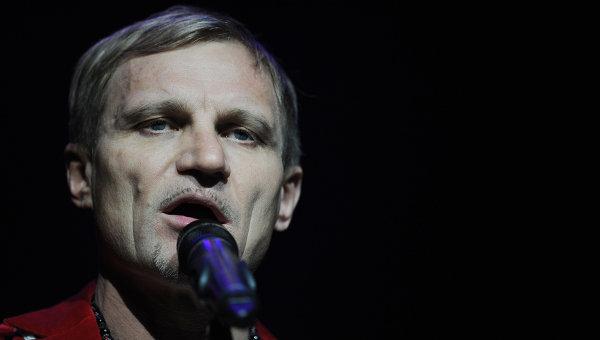 Лидер группы Вопли Видоплясова Олег Скрипка. Архивное фото.