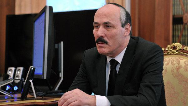 Глава республики Дагестан Рамазан Абдулатипов. Архивное фото
