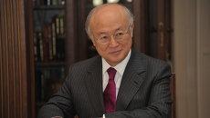 Генеральный директор Международного агентства по атомной энергии (МАГАТЭ) Юкиа Амано. Архивное фото