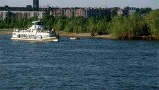 Набережная Новосибирска, архивное фото