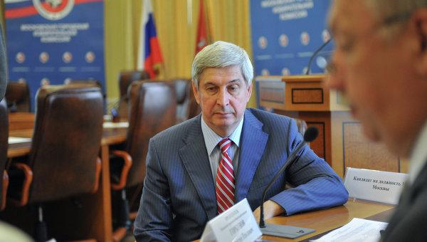 Регистрация кандидата И.Мельникова на должность Мэра Москвы