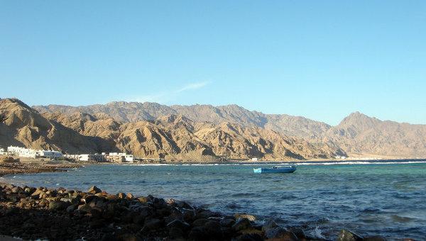 Побережье Красного моря в Египте. Архивное фото