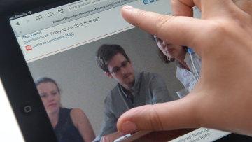 Эдвард Сноуден. Архивное фото