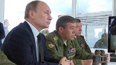 Путин дал оценку масштабным учениям в Восточном военном округе