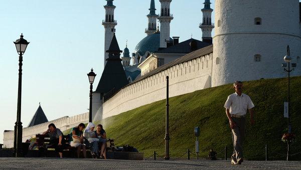 Казань. Татарстан. Архивное фото