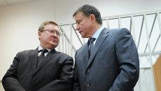 Вячеслав Дудка с адвокатом. Архив