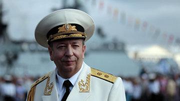Заместитель главнокомандующего ВМФ России вице-адмирал Александр Федотенков. Архивное фото