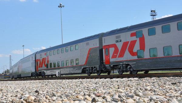 Двухэтажные пассажирские вагоны
